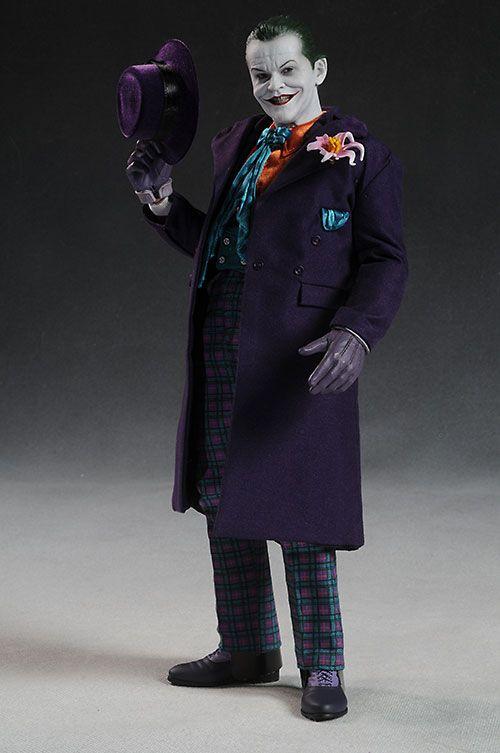 Jack Nicholson Joker action figure by Hot Toys