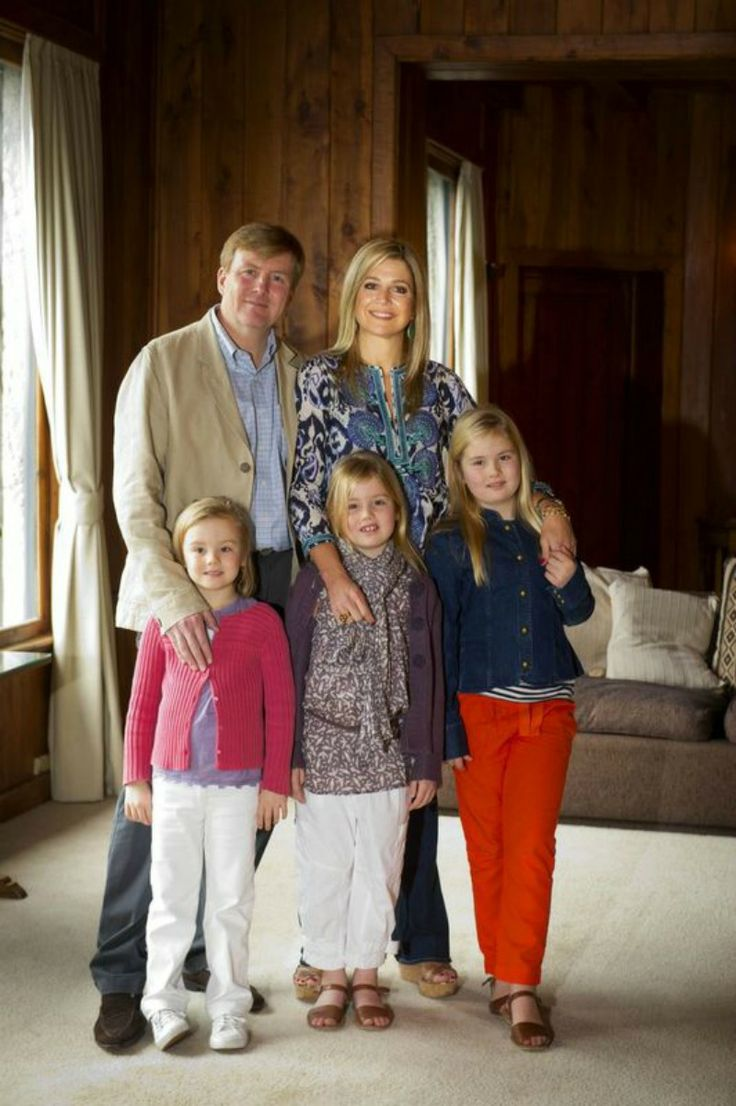 MYROYALS - HOLLYWOOD FASHİON: The Dutch Royals in Argentina-Crown Prince Willem-Alexander and Crown Princess Maxima with Princesses Ariane, Alexia, and Catharina-Amelia