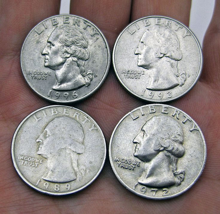 There are many different types of rare quarters, including some among the Washington quarter series. photo by joelogon on Flickr.