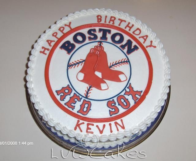 Red Sox Cake Images : 17 Best ideas about Red Sox Cake on Pinterest Red sox ...