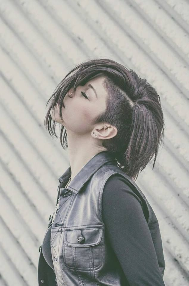 This is what my hair will look like this fall when it grows out a bit ♡