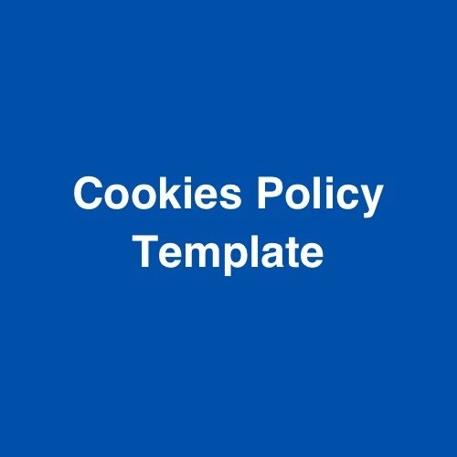 Download a sample Cookies Policy agreement template for your website.  #cookiespolicy #website