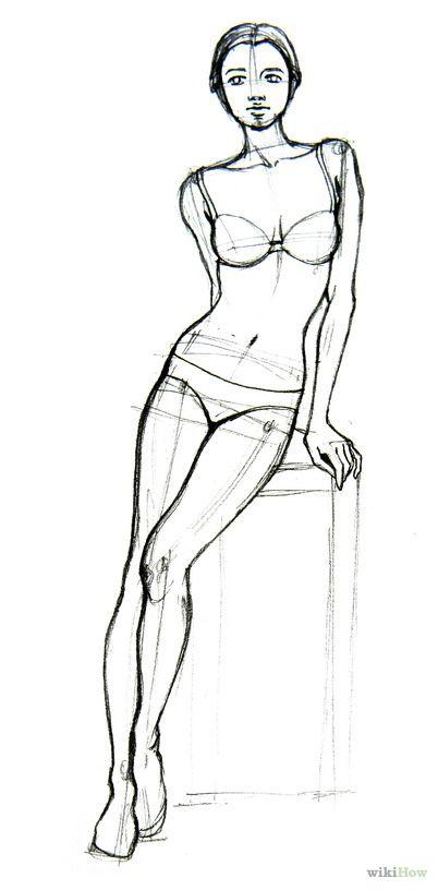 how to draw aurora full body