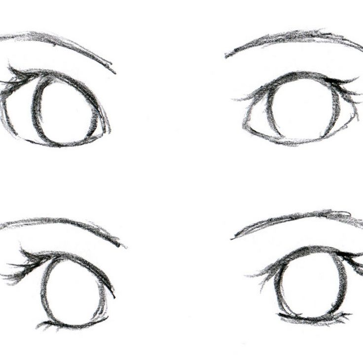 How to Draw an Anime / Manga Face and Eyes from the Side ... |How To Draw Anime Girl Eyes Step By Step For Beginners