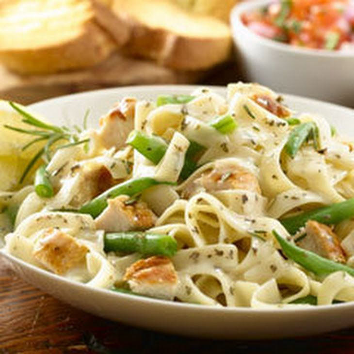 Rosemary Chicken With Herbed Pasta Recipe Main Dishes With