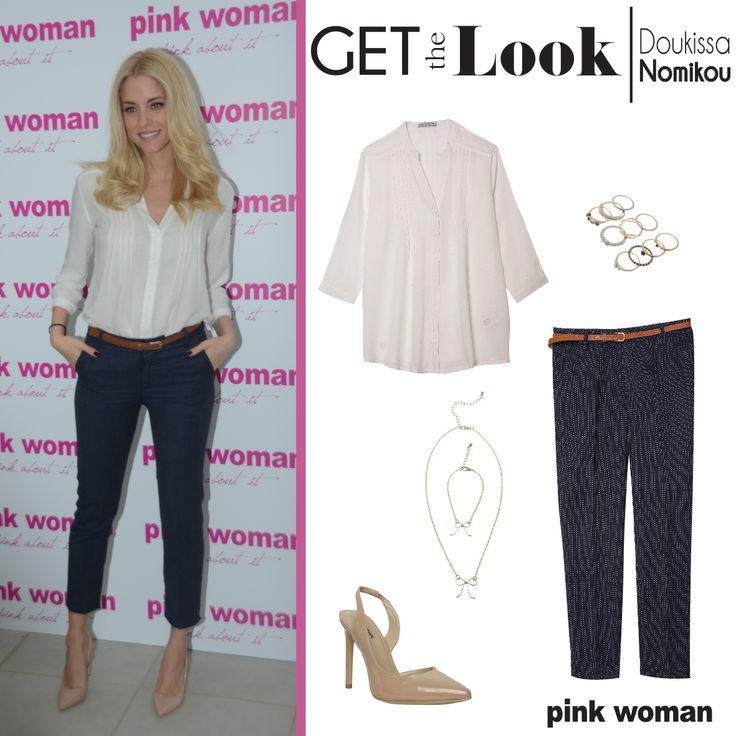 Get the total look of Doukissa Nomikou only at Pink Woman!