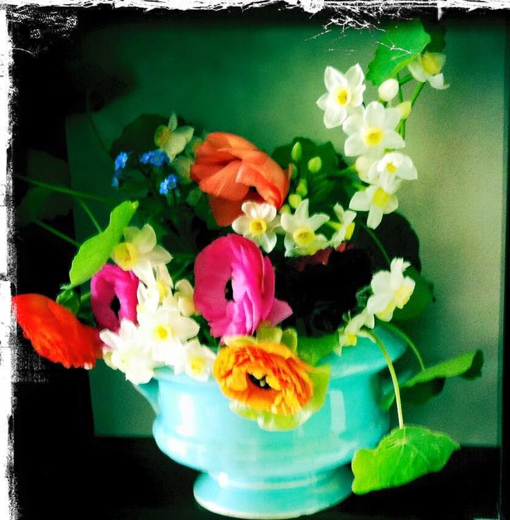 light and fresh #flowerarranging