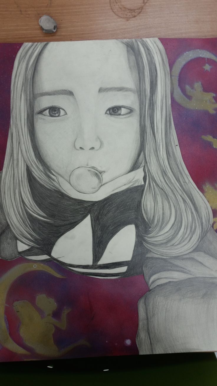 self drawing after
