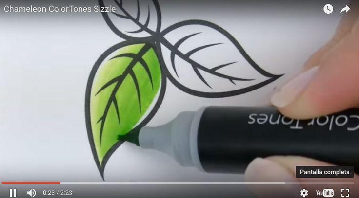 Vídeo explicativo de los nuevos rotuladores Chameleon