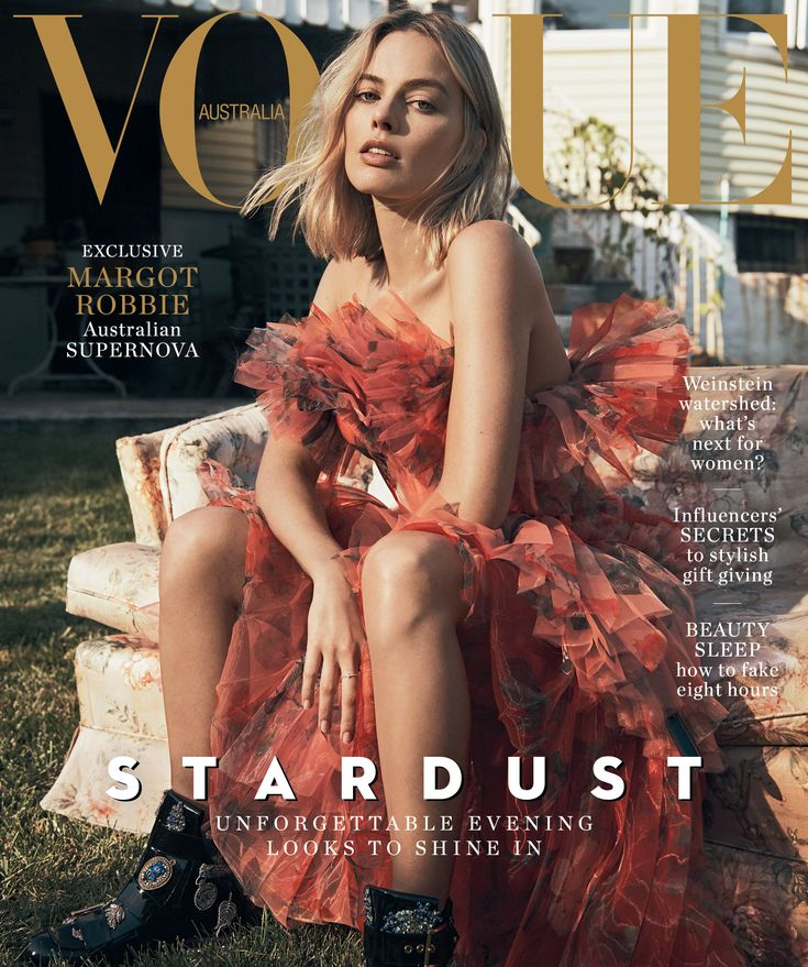 Margot Robbie for Vogue Australia December 2017 Cover by Lachlan Bailey