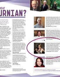 The Melbourne News - Gwendolynne Burkin talks about what makes a great Melburian