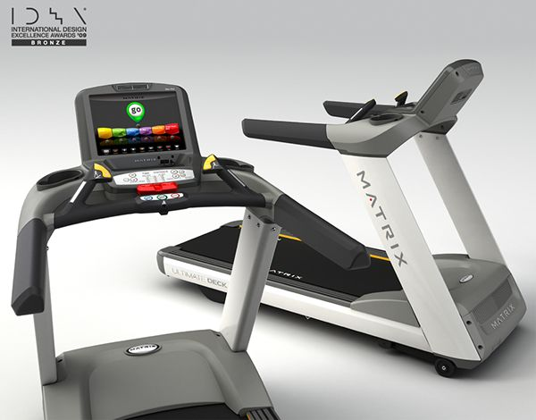 Matrix T7xe Treadmill on Industrial Design Served