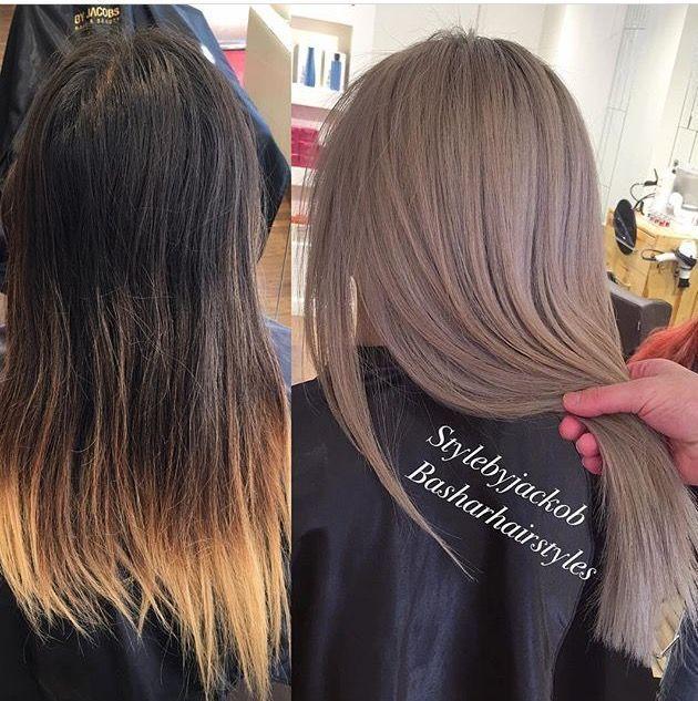 Pinterest Jaeelizabethh Ash Hair Color Hair Styles Trendy Hair Color