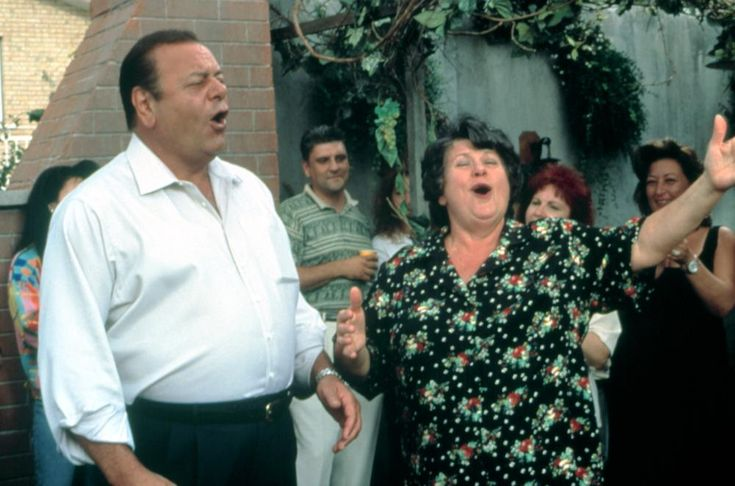 Paul Sorvino, Ginette Reno, 2003 | Essential Gay Themed Films To Watch, Mambo Italiano http://gay-themed-films.com/watch-mambo-italiano/