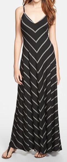chevron stripe maxi dress  http://rstyle.me/n/ezqbmpdpe
