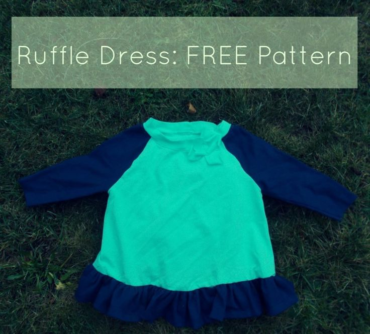 FREE SEWING PATTERN: Ruffle Dress