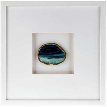 Hobby Lobby - Blue Agate Framed Wall Art | Living Room | Pinterest ...