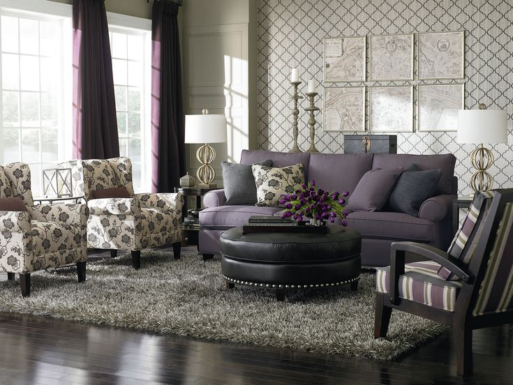 Upholstered Living Room Furniture Magnificent Bassett Custom Upholstery |  Decor | Pinterest | Upholstery, Furniture And Bricks