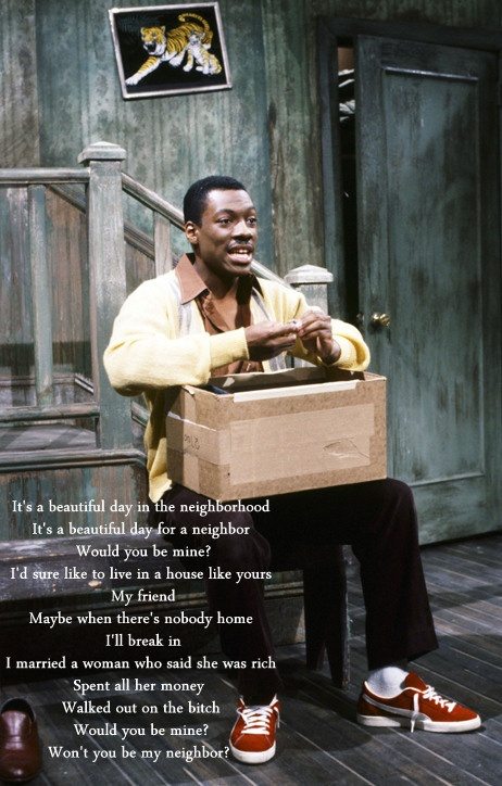 Mister Robinson - Eddie Murphy - Saturday Night Live