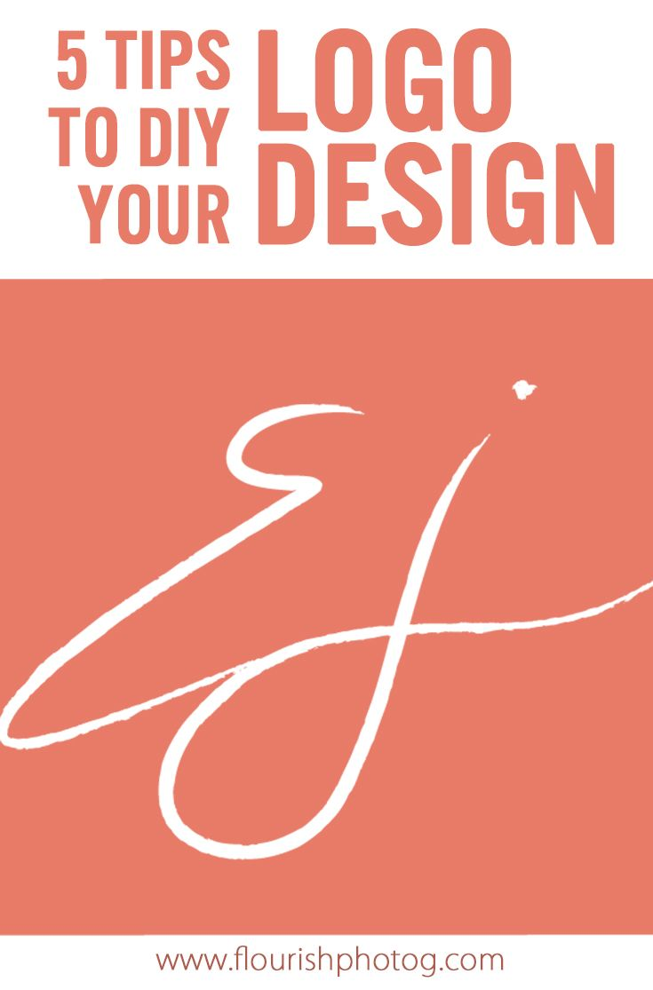 Graphic Design | Branding | Photography Business | DIY your LOGO with these tips...and learn how to make your signature into a logo file!
