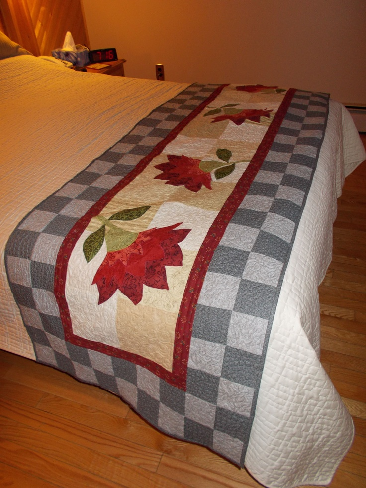 A favorite! Pattern taken from book Urban Country Quilts by Jeanne Large and Shelley Wicks