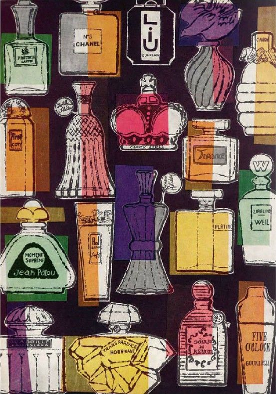 Andy Warhol. Illustration for Harper's Bazzar (1956)