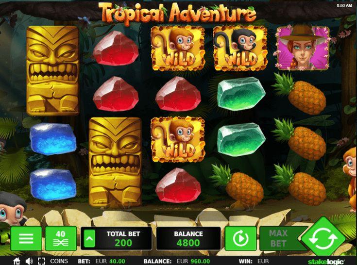 Tropical Adventure - http://www.automaty-ruleta-zdarma.com/vyherni-automat-tropical-adventure-online-zdarma/