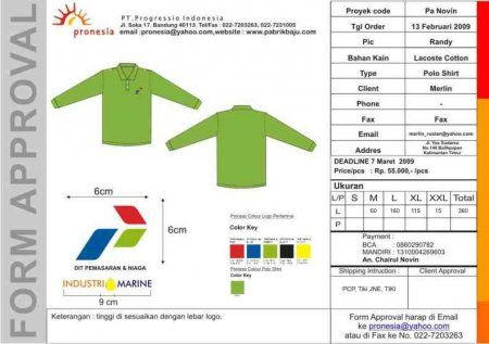 http://www.konveksi-jakarta.com/ Poloshirt Pertamina