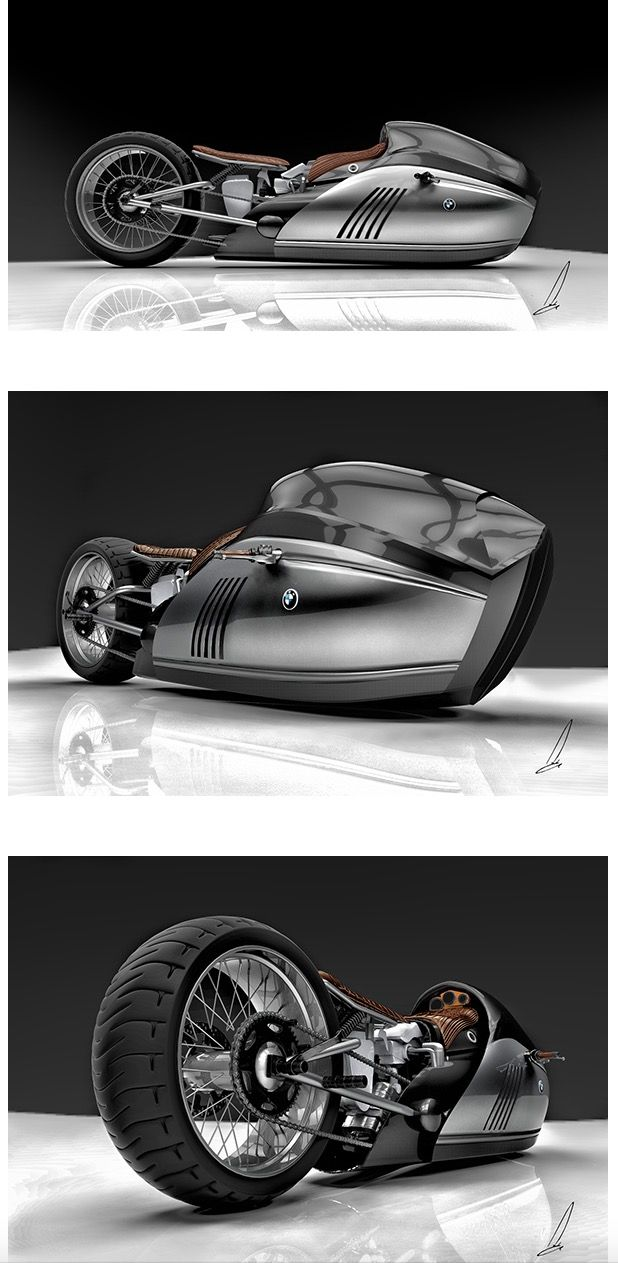 BMW K75 Alpha Motorcycle-Concept Becomes A Reality