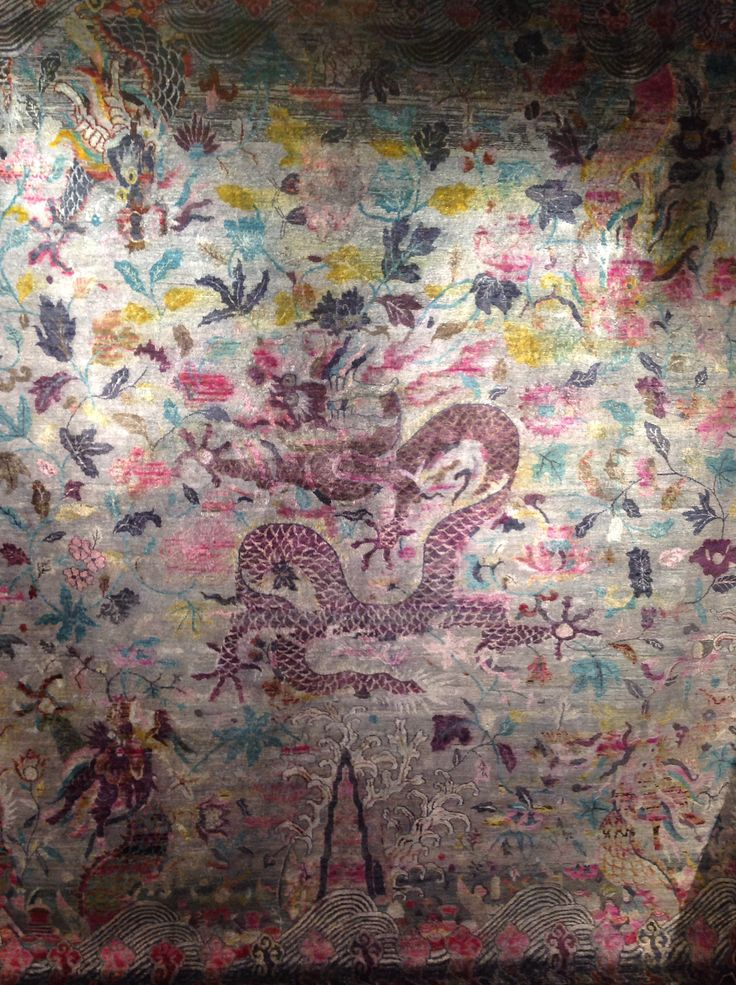 Dragon Rug from our Babylon Collection at Luke Irwin http://www.lukeirwin.com/collections/babylon/pinkdragon/