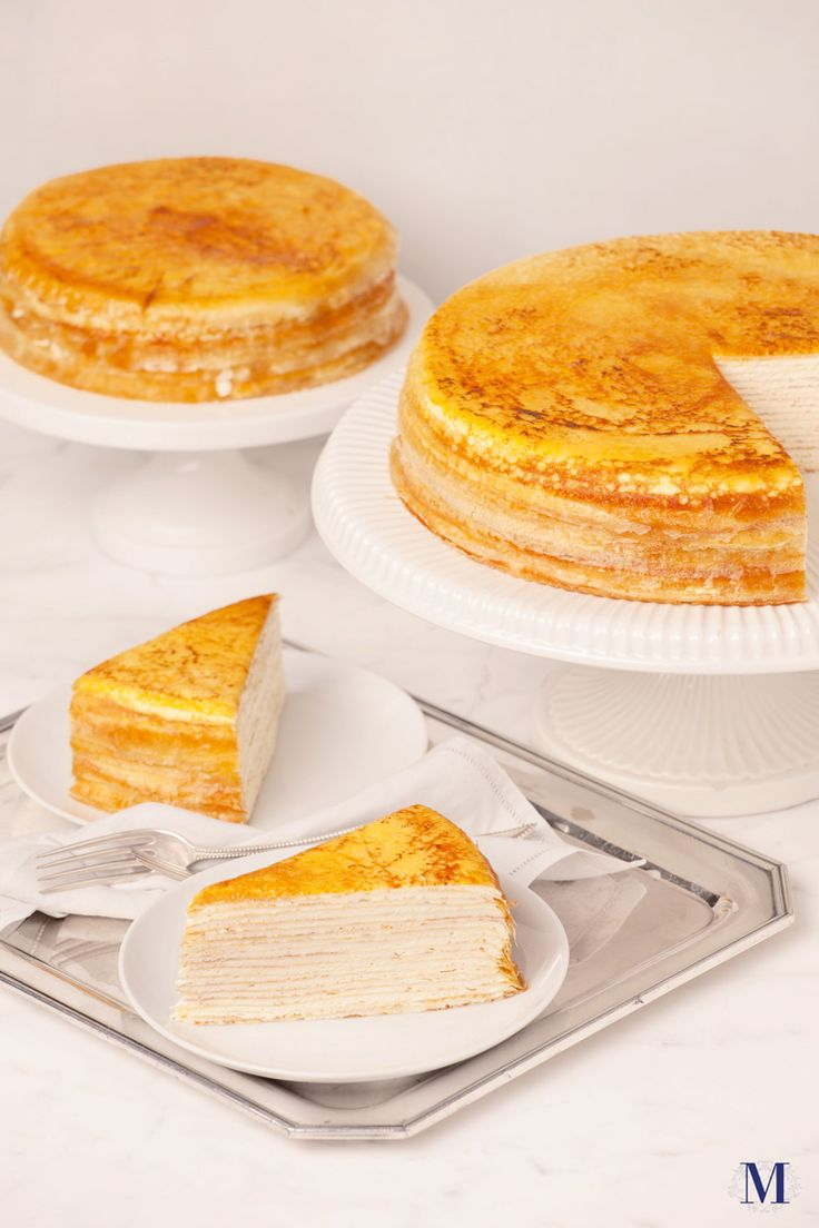 Cheese mille crepe cake recipe