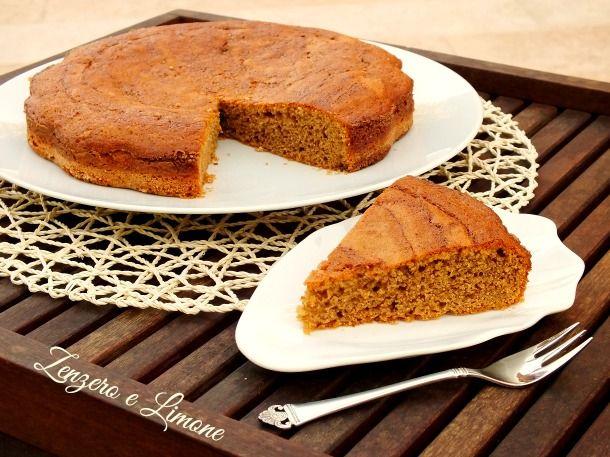 Torta+al+caffè+e+amaretti