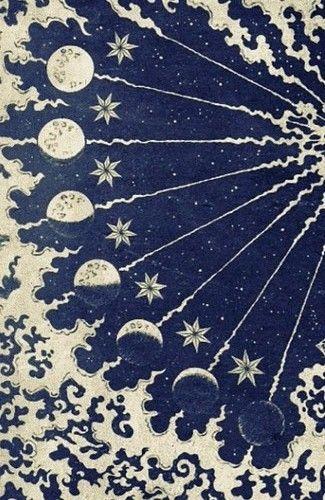 Moon phases #bohemian