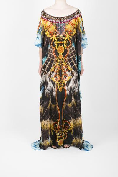 Embellished Kaftan Dress Design KC-K209-L