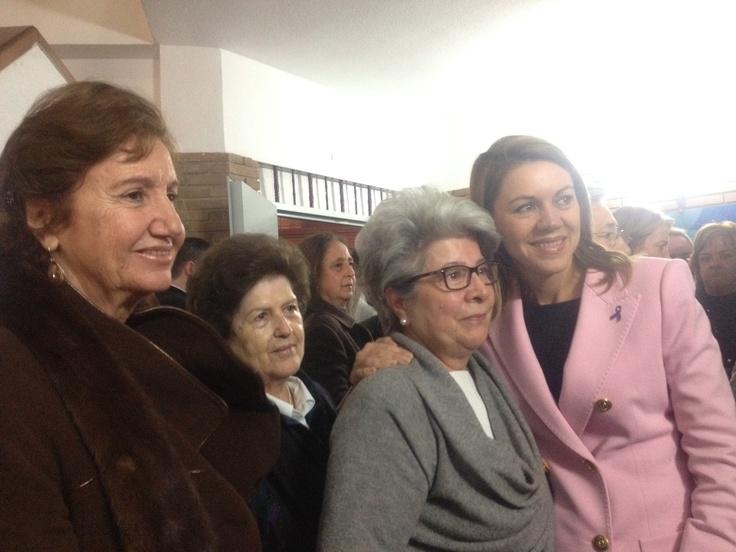 Cospedal en Tarancón al finalizar el día internacional contra la violencia hacia las mujeres  23-11-2012