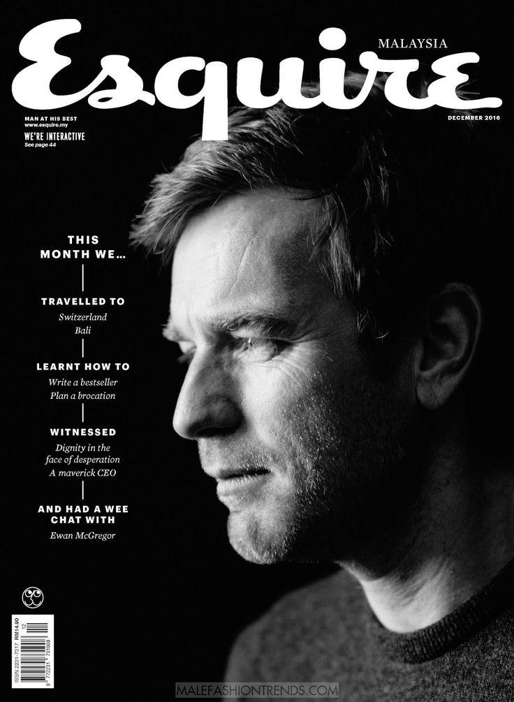 Ewan McGregor en portada de Esquire Malasia Diciembre