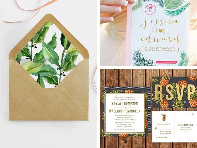 L'été se prolonge sur le blog avec un mood mariage 100% inspiration tropicale. Un article inspiré de La Fabrique des Instants, l'agence de wedding planner.