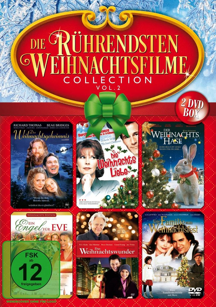 Die rührendsten Weihnachtsfilme Collection Vol. 2 2 DVDs: Amazon.de: diverse: DVD & Blu-ray