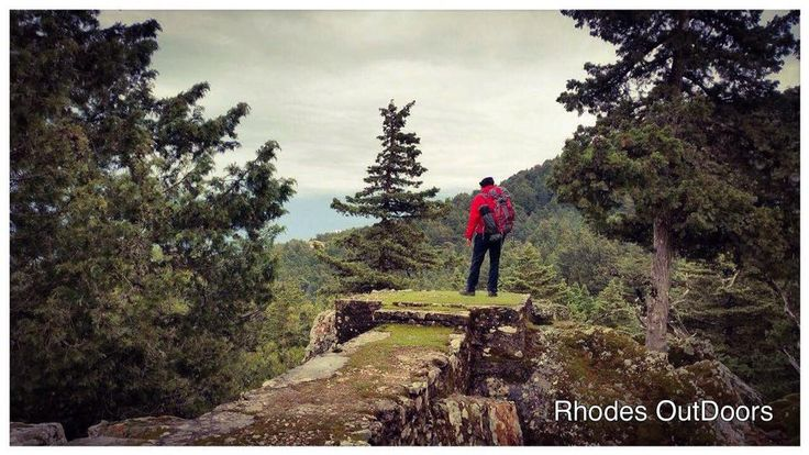 Akramitis Mnt. 825m Height Rhodes isl. #RhodesOutDoors