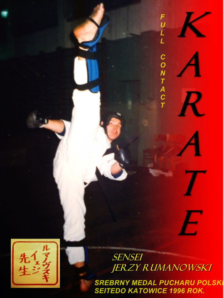 Silver medal,second place                  FULL CONTACT KUMITE, international cup polish < poland >, katowice 1996