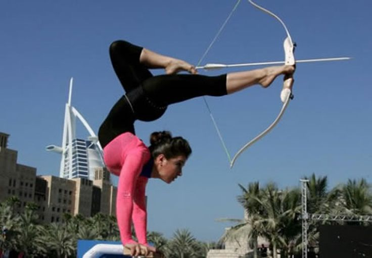 Google Image Result for http://www.demundus.com/wp-content/uploads/2011/05/91-Hot-Contortionist-Archery-Girl-with-a-Nice-Ass.jpg: Bucketlist, Buckets Lists, The Hunger Games, Funny Stories, Sets Goals, Sports, Funny Photos, Yoga, Team Building Activities