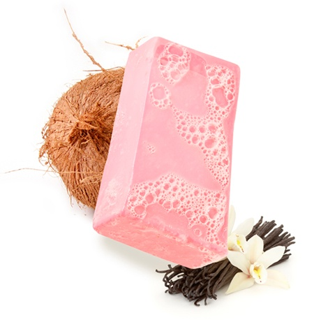 Pink soap: Favorite Lush, Rockstar Soap, Lush Rockstar, Lush Products, Candy Soap, Rock Stars, Pink Soaps, Candy Scented Soap, Star Soap Yum