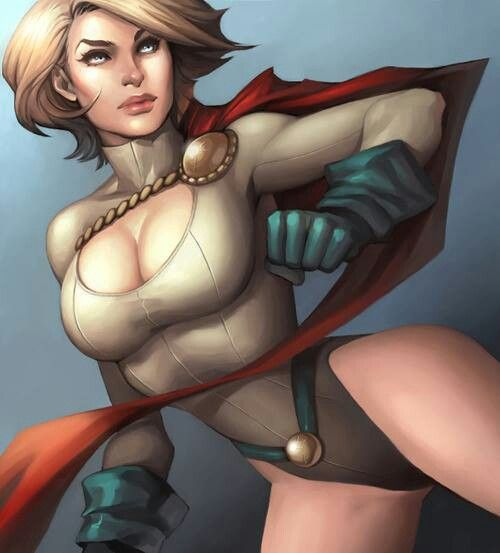 Power GirlComics Art, Power Girls, Dc Powergirl, Female Superhero, Girls Comics, Powergirl Art, Geek Girls, Girls Power, Comics Girls