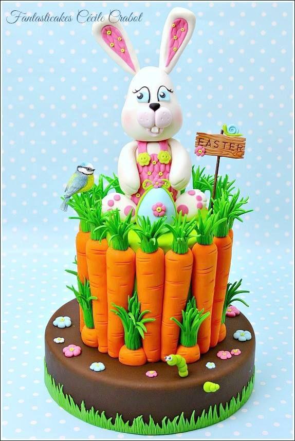 Easter bunny - Fantasticakes Cecile Crabot