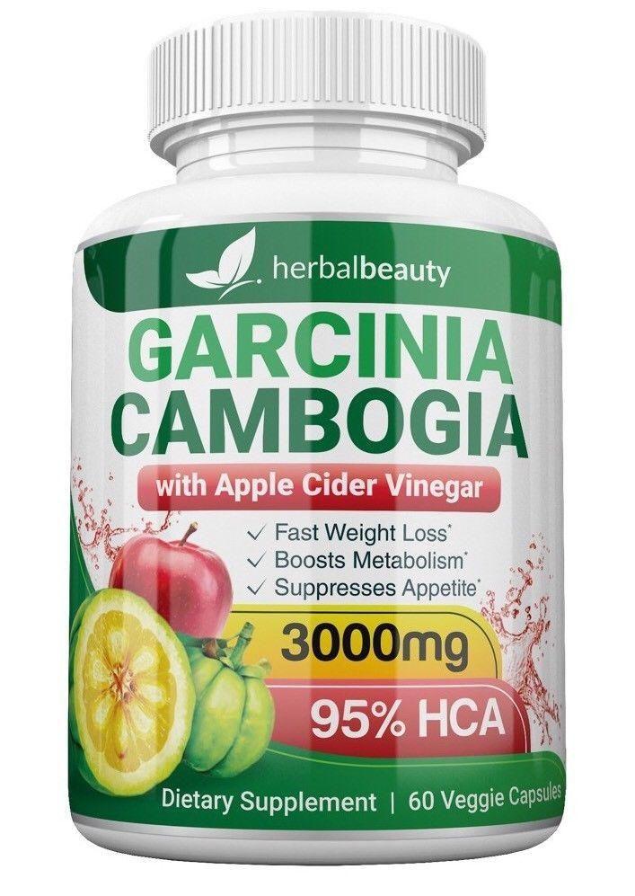 100 Pure Garcinia Cambogia With Apple Cider Vinegar Wtg Lose
