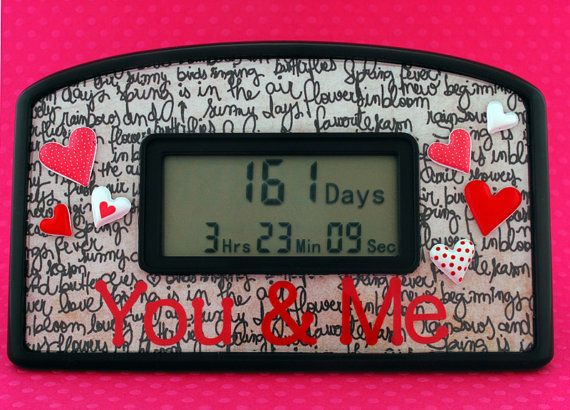 You And Me Countdown Clock