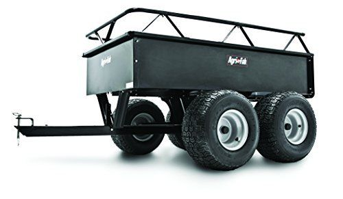 Agri-Fab 1000-Pound Heavy Duty Steel ATV Tow Tandem Axle Cart  45-0350