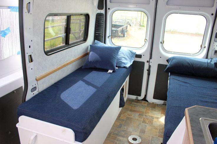 17 best images about camper beds on pinterest bed for Campervan furniture plans