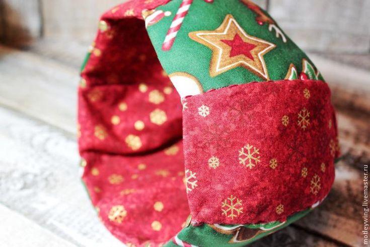 Шьем новогоднюю интерьерную Чашечку. Часть 1 - Ярмарка Мастеров - ручная работа, handmade