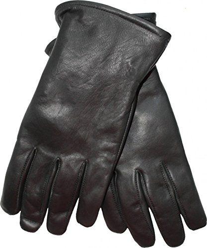 a0ba242c1f19b2 Damen Lammnappa Lederhandschuhe Handschuhe echtleder Lamm-Nappaleder  schwarz Größe:M=7. dünn und weich sehr angenehm auf der Hau…
